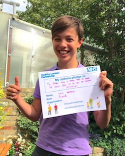 Asthma pledges - our 2017 and 2018 campaign