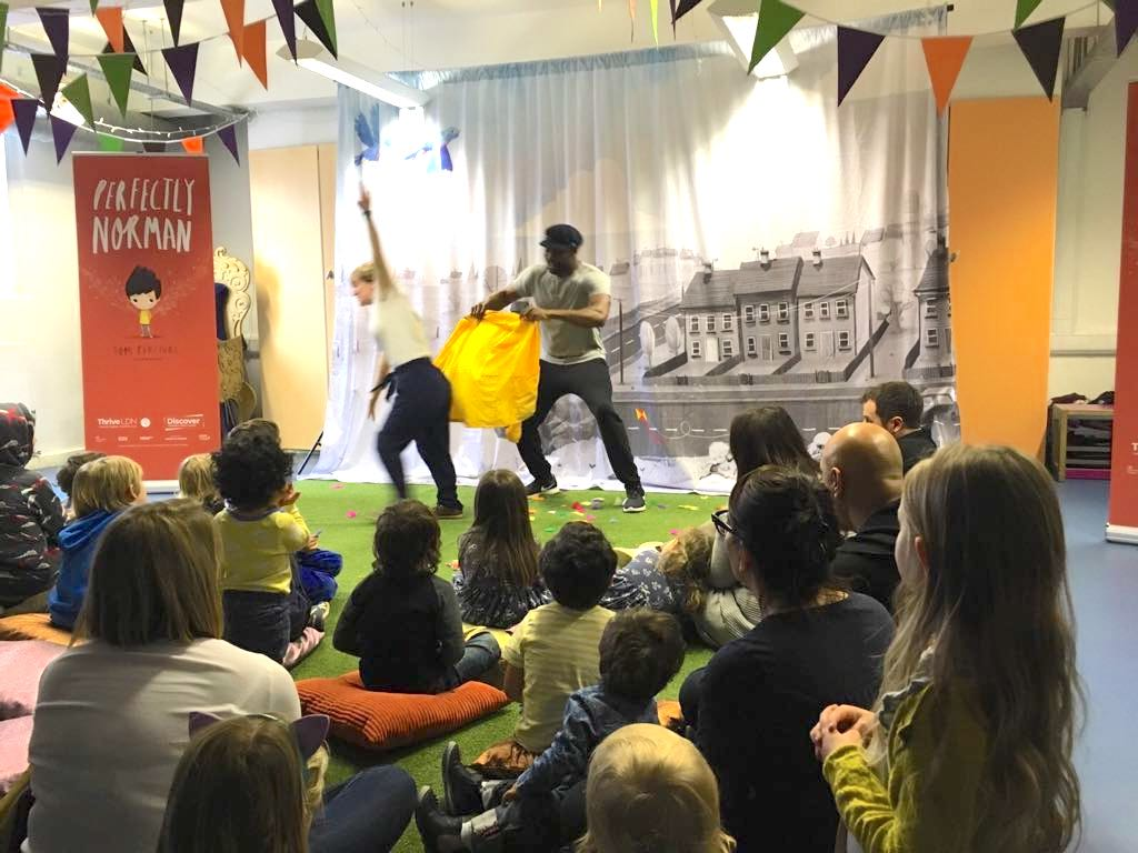 Thrive LDN partners with Discover Storytelling to get parents and children talking about mental health
