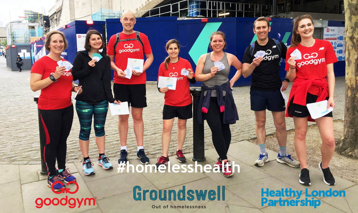 Can you get fit and do good to improve the lives of Londoners who are homeless? YES, YOU CAN!