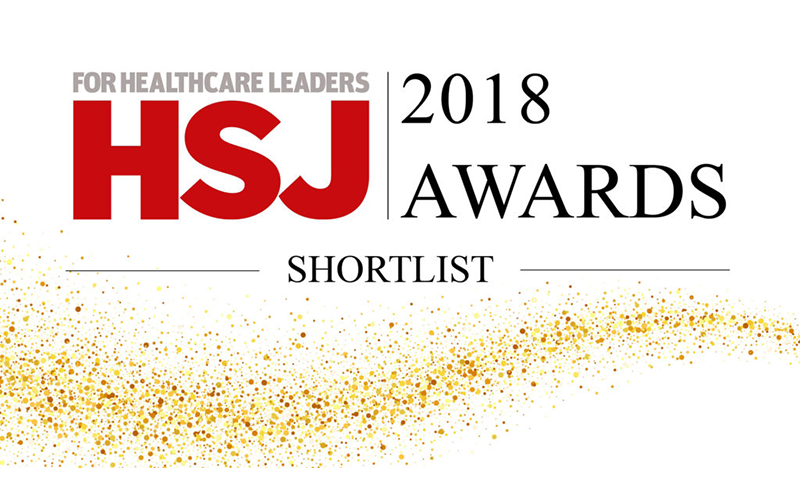 Transforming Cancer Services Team shortlisted fortwo HSJ Awards