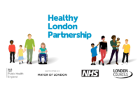 Healthy London Partnership icons and ogos