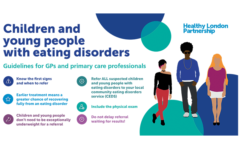 Children and Young People Eating Disorders flyer