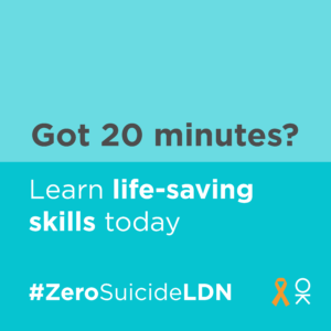 Mayor calls for all Londoners to play their part in supporting others and helping to prevent suicides