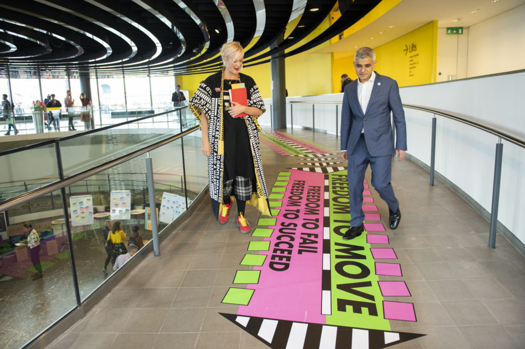 Young Londoners takeover City Hall for a World Mental Health Day Festival